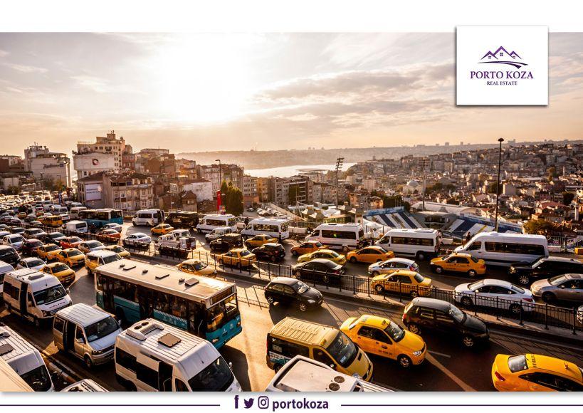 المواصلات وأنواعها في تركيا