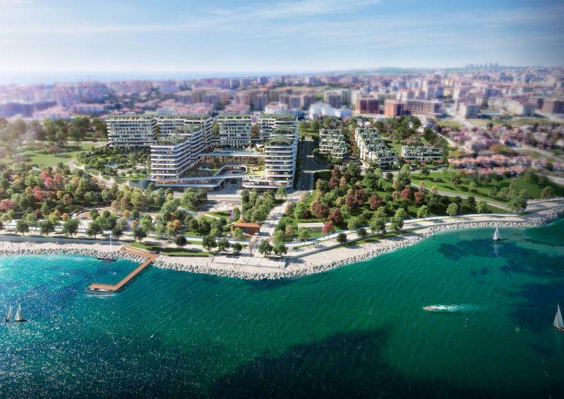 مستقبل منطقة بيوك تشكمجه büyükçekmece الساحلية في إسطنبول