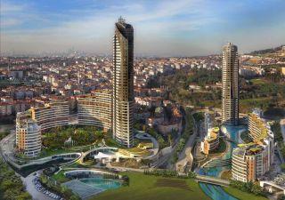 شقق للبيع  مساحة من 105.88 م2 إلى 256.05 م2 غرف من 2+1 إلى 5+1 ضمان حكومي في باشاك شهير Başakşehir