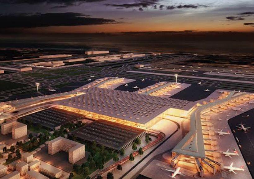 بمشاركة قادة ورؤساء دول معروفين تم الافتتاح التاريخي لمطار إسطنبول
