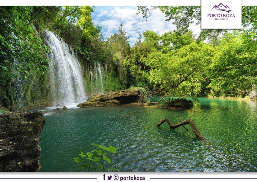 """شلال """"كورشونلو"""".. محمية طبيعية في أنطاليا تبهر زائريها"""