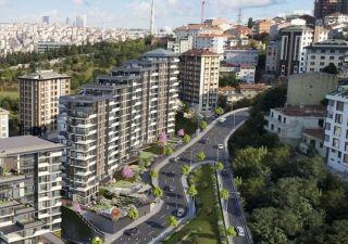 شقق وفلل للبيع باسطنبول مشروع سكني في وسط اسطنبول