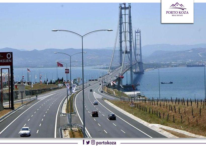 """تخفيض رسوم عبور جسر """"عثمان غازي"""" في إسطنبول بنسبة 20%"""