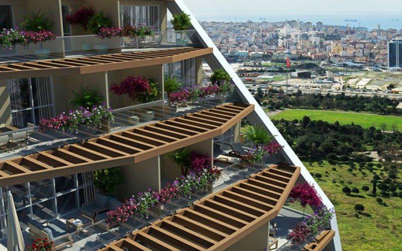 صور مجمع شوكوروفا بالكون Cukurova Balcony ، كارتال ، اسطنبول   بورتوكوزا العقارية
