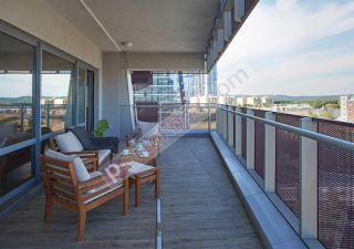 شقة للبيع  مقيم للجنسية التركية غرف 4+1 في سارير ، حي مسلك