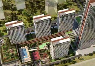 شقق للبيع  (PK-4762) مشروع استثماري غرف من 1+1 إلى 3+1 في بيليك دوزو