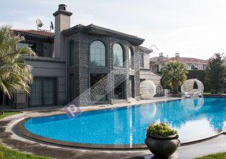 فيلا للبيع  مقيم للجنسية التركية غرف 7+1 في بيوك جكمجة
