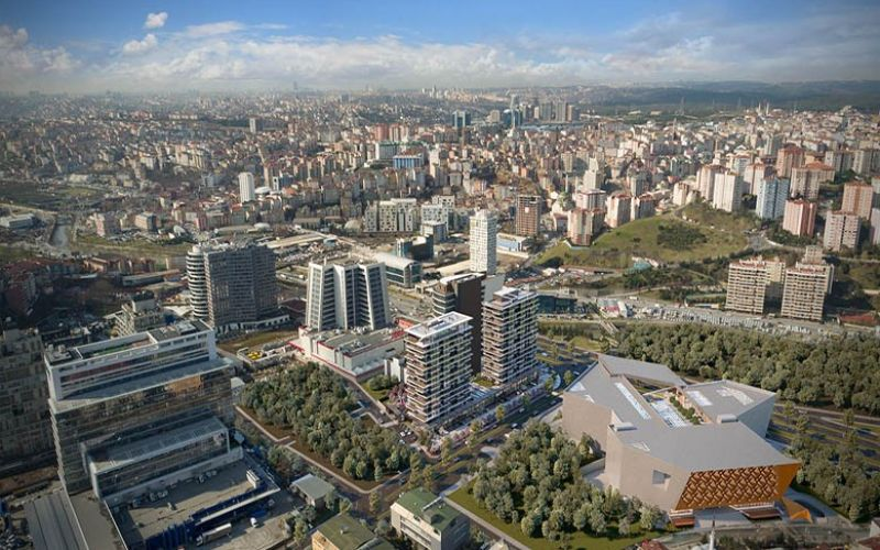صور  تيمبو سيتي (Tempo City) ، كاغتهانة ، اسطنبول   بورتوكوزا العقارية