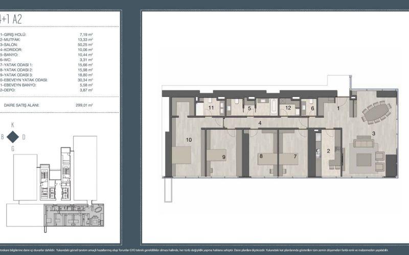 صور مخطط  تورون سنتر (Torun Center) ، شيشلي ، حي مجيدية كوي ، اسطنبول | بورتوكوزا العقارية