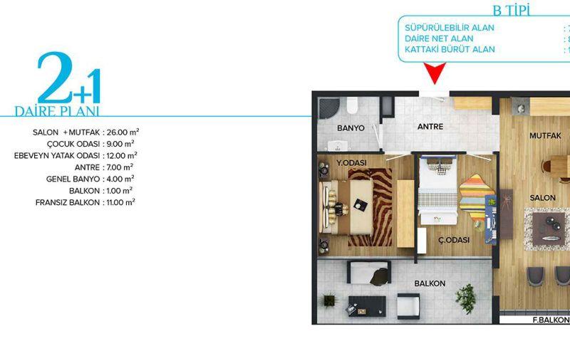 صور مخطط  ميفا شهير (Meva Şehir) ، اريمان ، أنقرة | بورتوكوزا العقارية