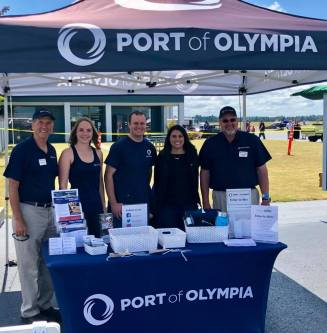Port of Olympia at Olympic Air Show