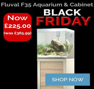 Black Friday Deal Fluval F35 Fresh Water Aquarium And Cabinet