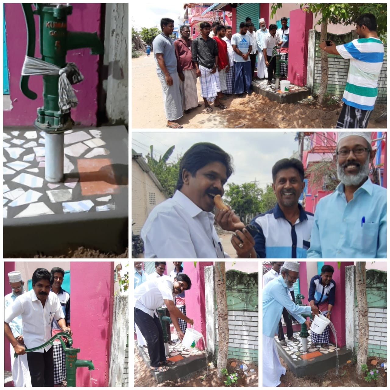 18th Water Pump for General Public