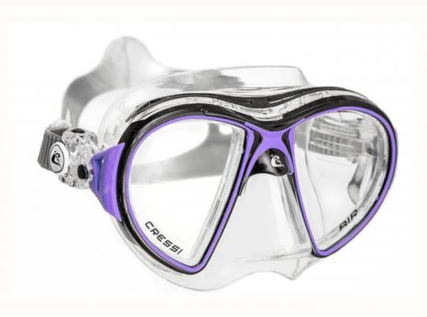 Máscara Cressi AIR Crystal negro lila