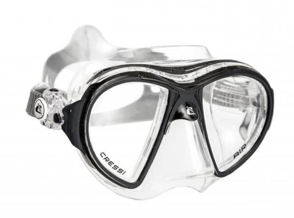 Máscara Cressi AIR Crystal negro negro