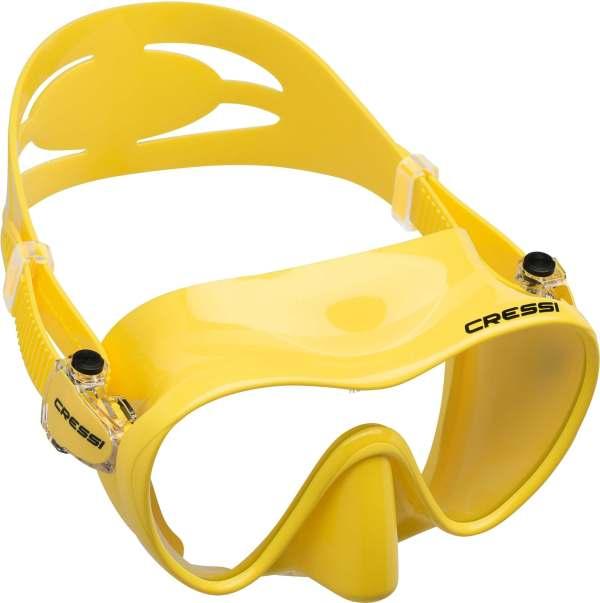 Mascara de Buceo Cressi F1 Small amarilla