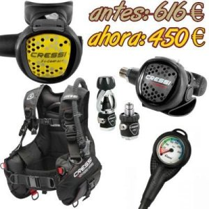 PACK Chaleco Start Pro 2.0 + Regulador MC9 Compact Completo