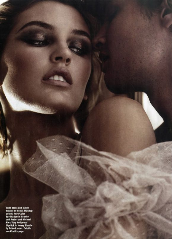 """Ali Stephens photographed by Michael Thompson in """"True Romance"""" for Allure Magazine, February 2010 2"""