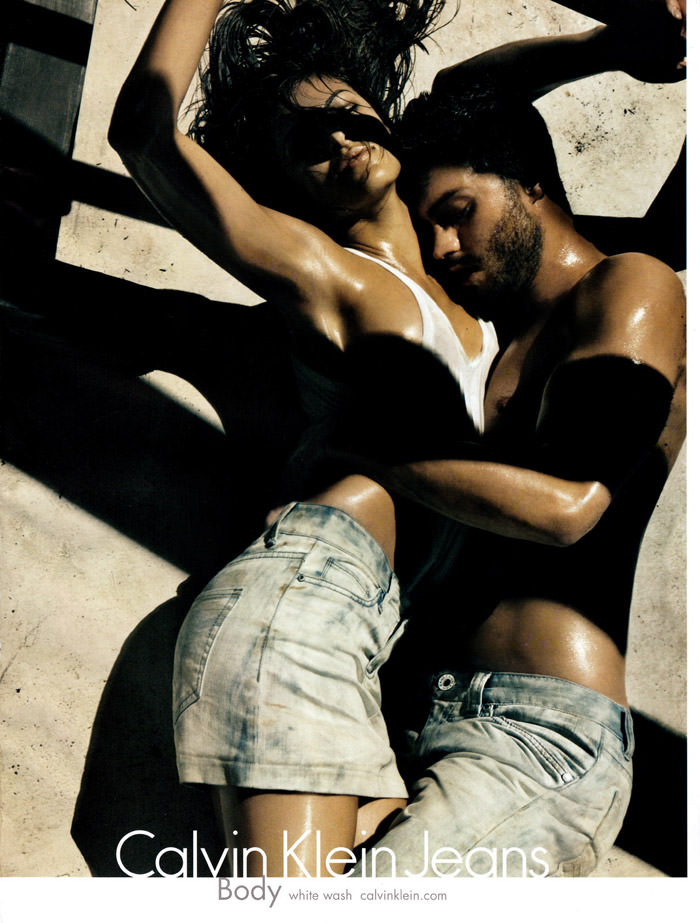 Eva Mendez (& Jamie Dornan) photographed by Steven Klein for Calvin Klein Jeans, Spring 2010 1