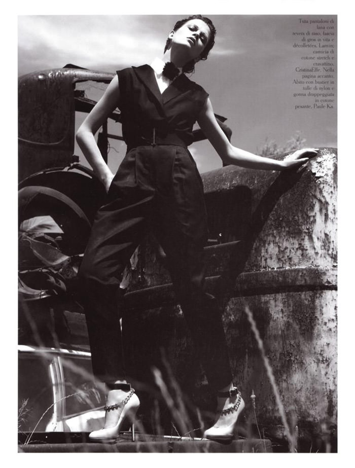 """Marlena Szoka photographed by Stefano Moro in """"Bellissima"""" for Amica Italy, February 2010 8"""