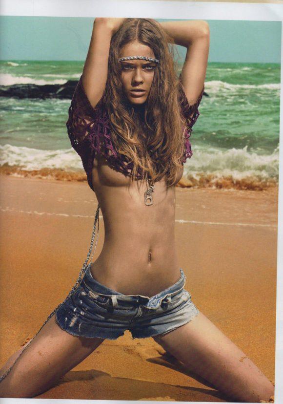 "Flashback: Monika 'Jac' Jagaciak photographed by Chuando & Frey in ""Beach"" for French Jalouse, June 2008 7"