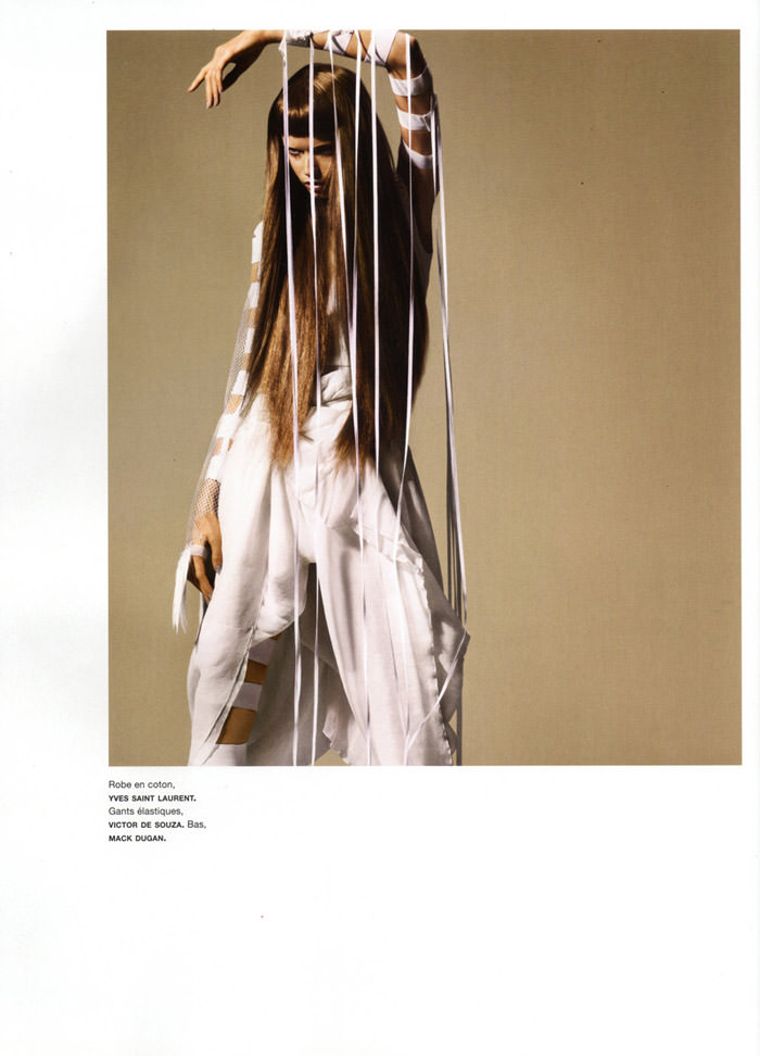 """Abbey Lee Kershaw photographed by Miguel Reveriego in """"Oiseau Rare"""" for Numéro #109 3"""