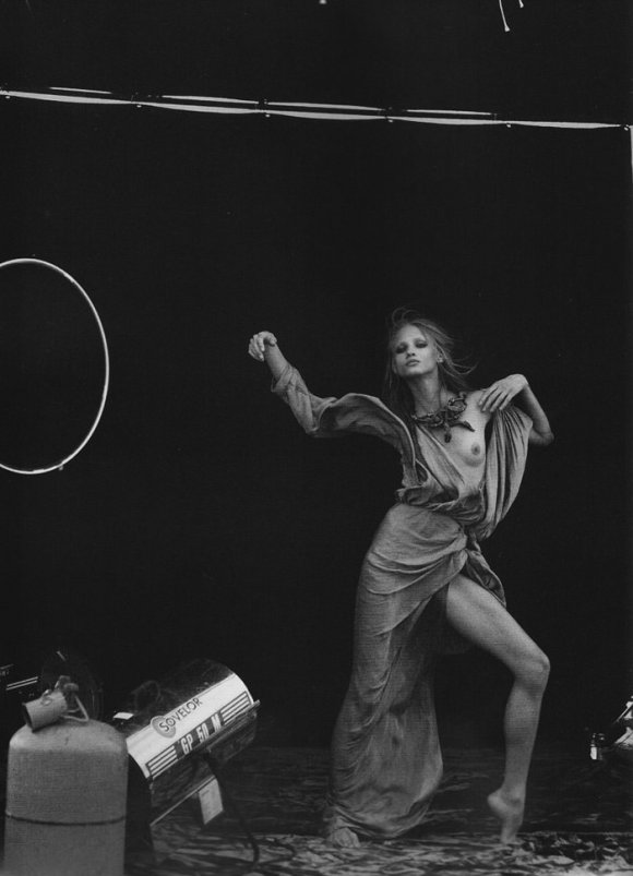 Anna Selezneva photographed by Peter Lindbergh in Numéro #110 3