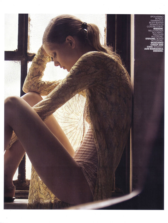 "Mathilde Frachon photographed by David Bellemére in ""Attrazione Indochic"" for Maire Claire Italy, February 2010 12"