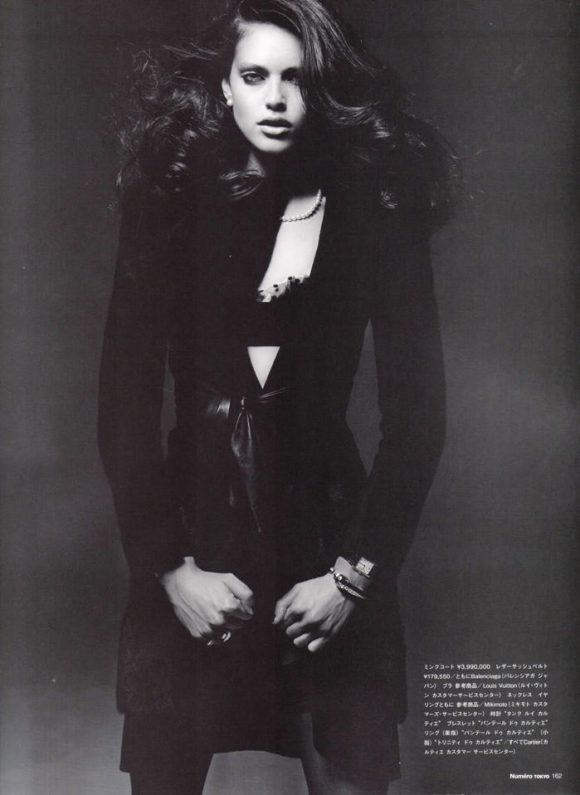"Emily Didonato photographed by Satoshi Saikusa in ""Dazzling Noir"" for Numéro Tokyo, February 2010 3"