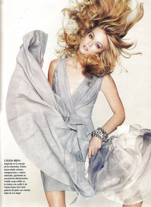 """Lindsay Ellingson photographed by Nino Muñoz in """"Aires de Cambio"""" for Vogue México, February 2010 2"""
