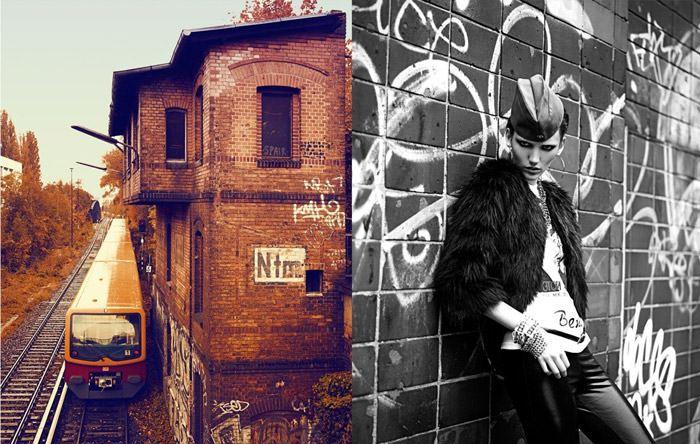 "Nina Reijnders photographed by Koray Birand in ""Berlin In Berlin"" for Marie Claire 2"