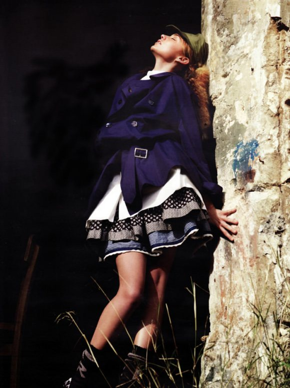 Update: Miranda Kerr photographed by Willy Vanderperre for Vogue Russia, February 2010 3