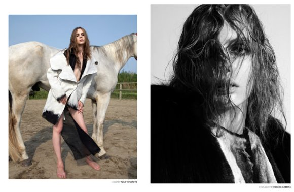 """Sophie Srej photographed by Terry Gates in """"This Used To Be My Playground"""" 3"""
