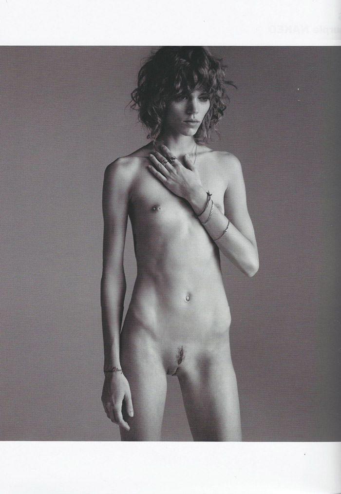 Freja Beha Erichsen photographed by Inez van Lamsweerde and Vinoodh Matadin for Purple Magazine #13 3