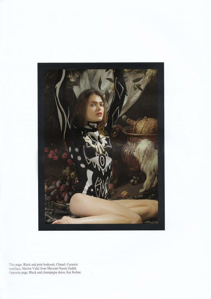 "Sophie Vlaming photographed by Anushka Blommers & Niels Schumm in ""Plums In The Icebox"" for Dossier Journal, Issue IV 6"