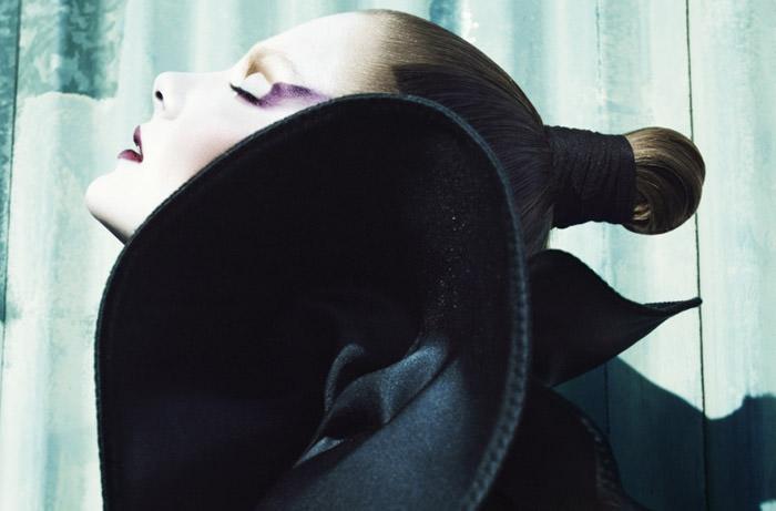 "Eniko Mihalik photographed by Greg Kadel in ""Memories Of Green"" for Numéro #111 3"
