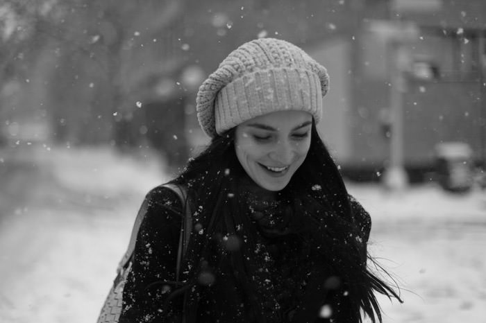"""Documentary: Jacquelyn Jablonski photographed in """"Snow Day"""" by Kevin Tachman for Models.com 2"""