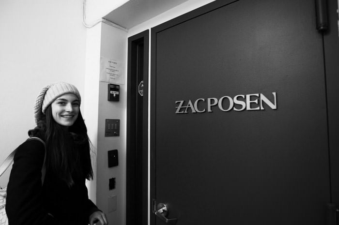 """Documentary: Jacquelyn Jablonski photographed in """"Snow Day"""" by Kevin Tachman for Models.com 12"""