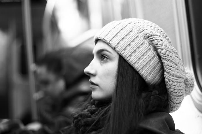 """Documentary: Jacquelyn Jablonski photographed in """"Snow Day"""" by Kevin Tachman for Models.com 14"""