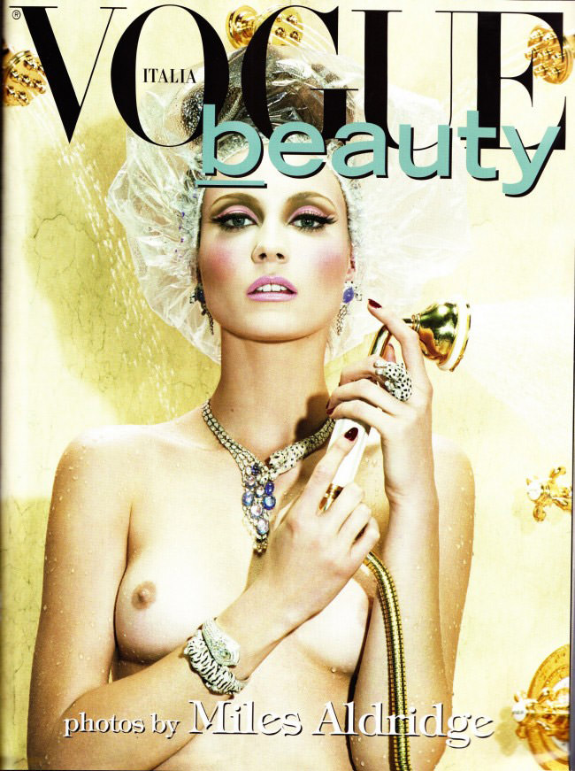 Charlotte Di Calypso photographed by Miles Aldridge for Vogue Italia, February 2010 1