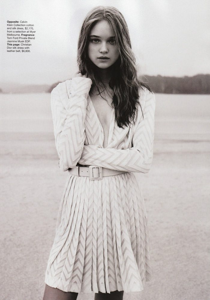 "Rosie Tupper photographed by Nicole Bentley in ""Soft Focus"" for Vogue Australia, April 2010 5"