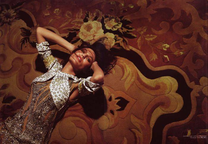 "Bianca Balti photographed by Fabio Raineri in ""Overnight"" for Muse Italia, March 2010 4"