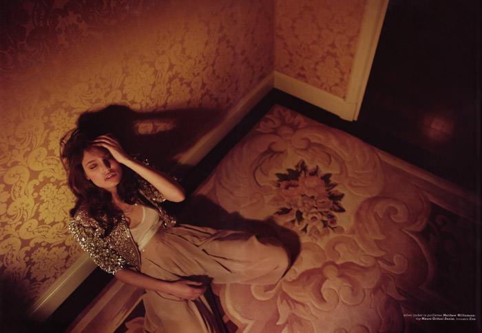 "Bianca Balti photographed by Fabio Raineri in ""Overnight"" for Muse Italia, March 2010 6"