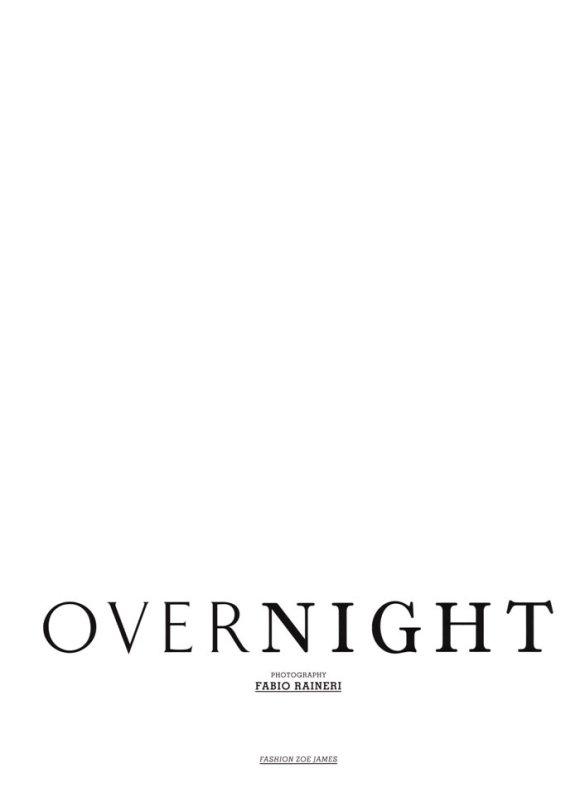 "Bianca Balti photographed by Fabio Raineri in ""Overnight"" for Muse Italia, March 2010 1"