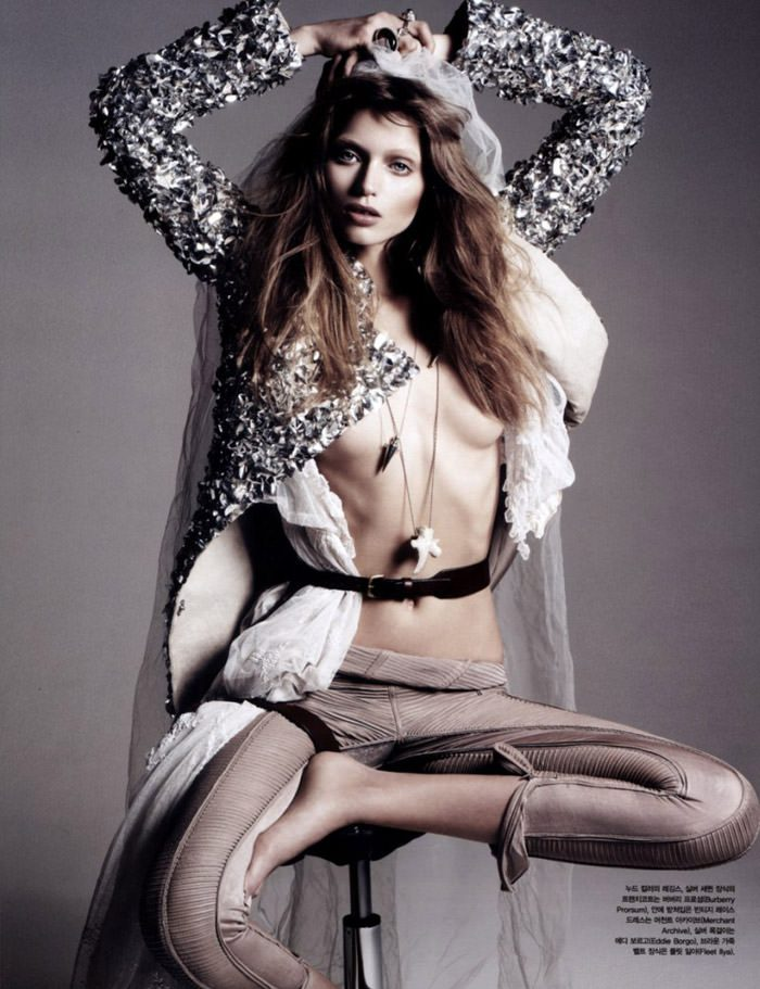 """Abbey Lee Kershaw photographed by Rafael Stahelin in """"Lovely Bones"""" for Vogue Korea, April 2010 6"""