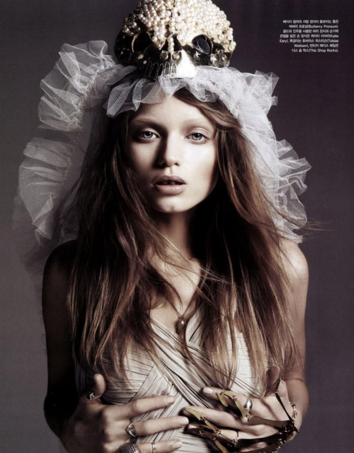 """Abbey Lee Kershaw photographed by Rafael Stahelin in """"Lovely Bones"""" for Vogue Korea, April 2010 8"""
