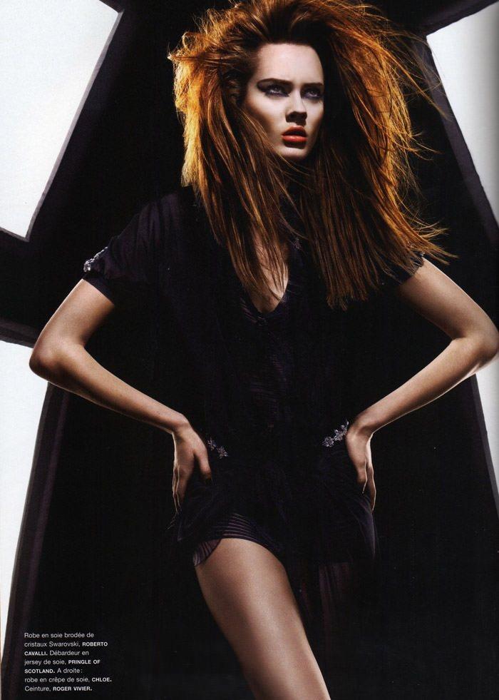 """Monika """"Jac"""" Jagaciak photographed by Miguel Reveriego in """"Et Je Te Veux Cruelle"""" for Numéro #111 5"""