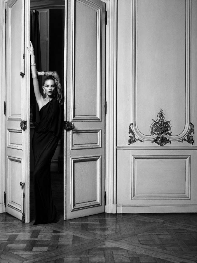 Anja Rubik photographed by Hedi Slimane for Vogue Paris, April 2010 2