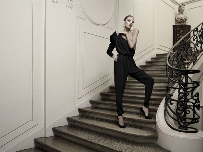Anja Rubik photographed by Hedi Slimane for Vogue Paris, April 2010 3