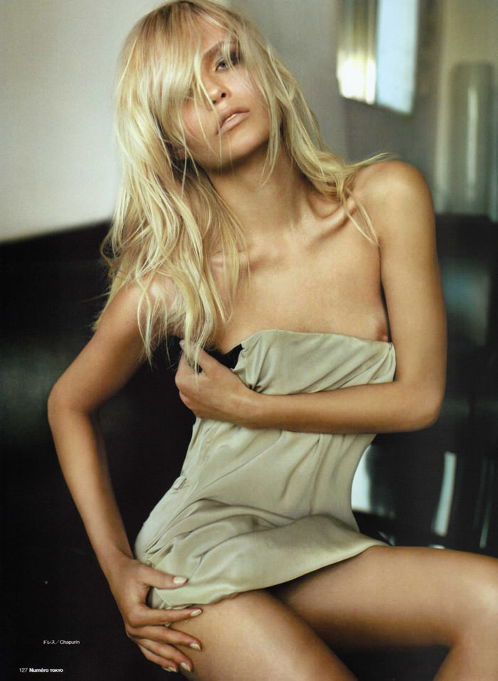 Natasha Poly photographed by Alex Cayley for Numéro Tokyo #35, March 2010 3
